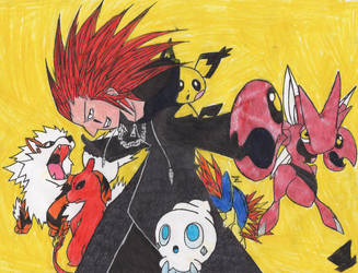 Pokemon-Team of Axel by MadHatter-Himself