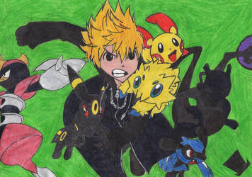 Pokemon-Team of Roxas by MadHatter-Himself