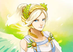 Mercy Winged Victory by medvale