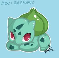 Bulbasaur by crack-turtle