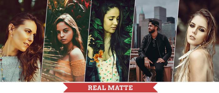 Real Matte Photoshop Actions by Bato-Gjokaj