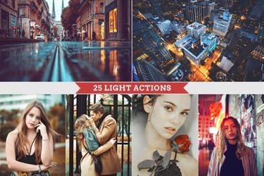 Light Photoshop Actions by Bato-Gjokaj