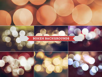 Bokeh Backgrounds by Bato-Gjokaj