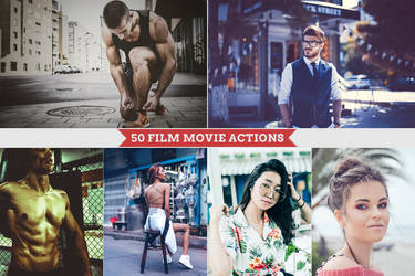 Film Movies - Photoshop Actions by Bato-Gjokaj