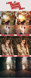 Fall Photoshop Actions by Bato-Gjokaj