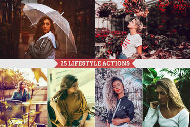 25 Lifestyle Actions Preview by Bato-Gjokaj