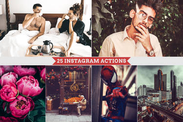 Instagram Photoshop Actions by Bato-Gjokaj
