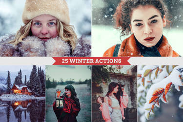 25 Winter Actions by Bato-Gjokaj