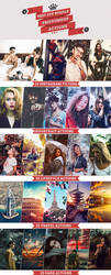BEST OFF BUNDLE 125 Photoshop Actions Download by Bato-Gjokaj