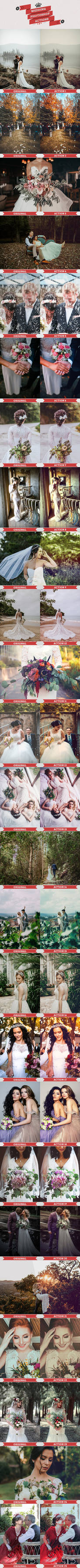 Wedding Photoshop Actions by Bato-Gjokaj