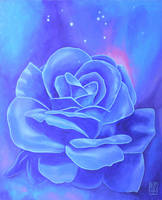 Blue Pleiadian Light Awakening by steveamo
