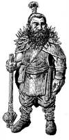 Hill Dwarf Druid by mentat0209