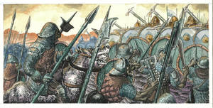 The Battle of the Five Armies - Color by mentat0209