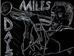 Miles Davis by ghettoflower