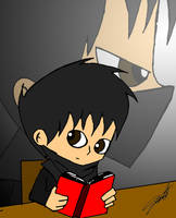 Chibi Dark Prince 1st try by DarkPrince2007