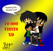 10 000 visits yeahhh by DarkPrince2007