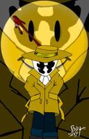 Rorschach mask by DarkPrince2007