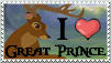 Great Prince Stamp by PirateHearts