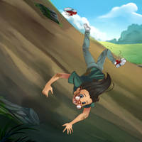 .:COMM: Falling from the Hill :. by PirateHearts