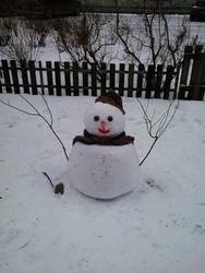 Snowman by bokugakowai