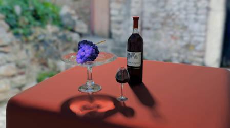 Simply Wine by Nanaki-Murasaki