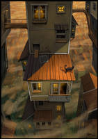 A Walk Across The Rooftops by Tyrus88