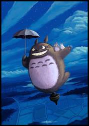 Totoro by Tyrus88