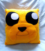 Jake Plush Pillow by CynicalSniper