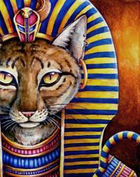 The Cat of the Pharaoh by Demalah