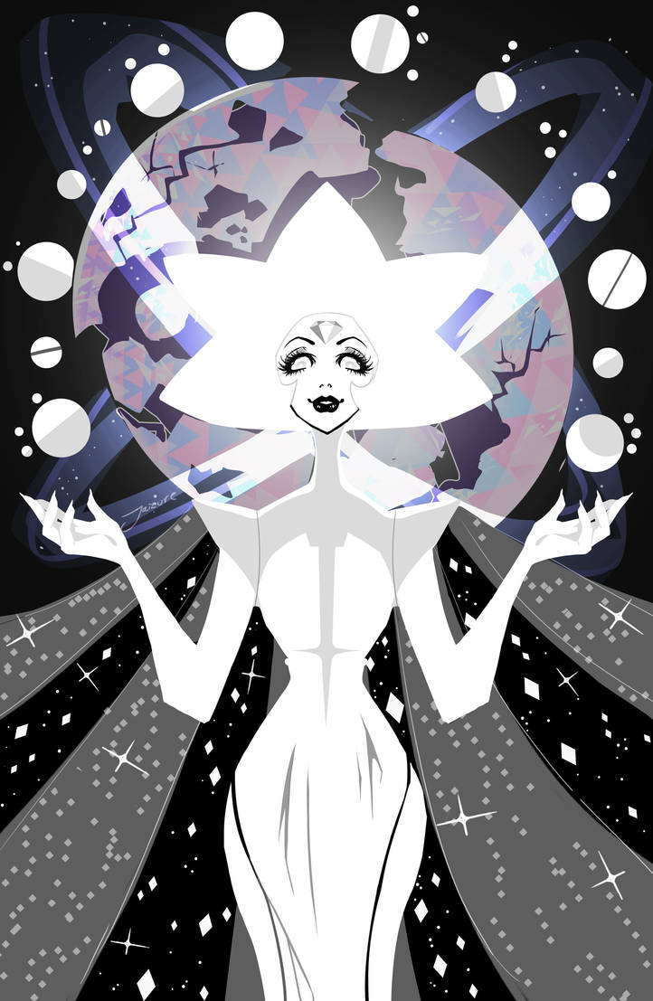 Pink... There you are Hello starlight you've certainly gave everyone a scare I love her I love her I love her She's everything I was hoping for when I was hoping for white diamond!! she's this eeri...