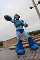 Megaman X 1 by Miss-Marquin
