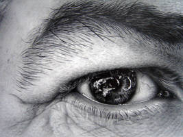 Eye study in pencil 2 by asariamarka