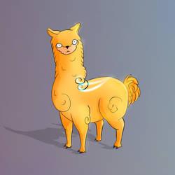 Deep inside yourself you're an alpaca by CaptainBobTuk