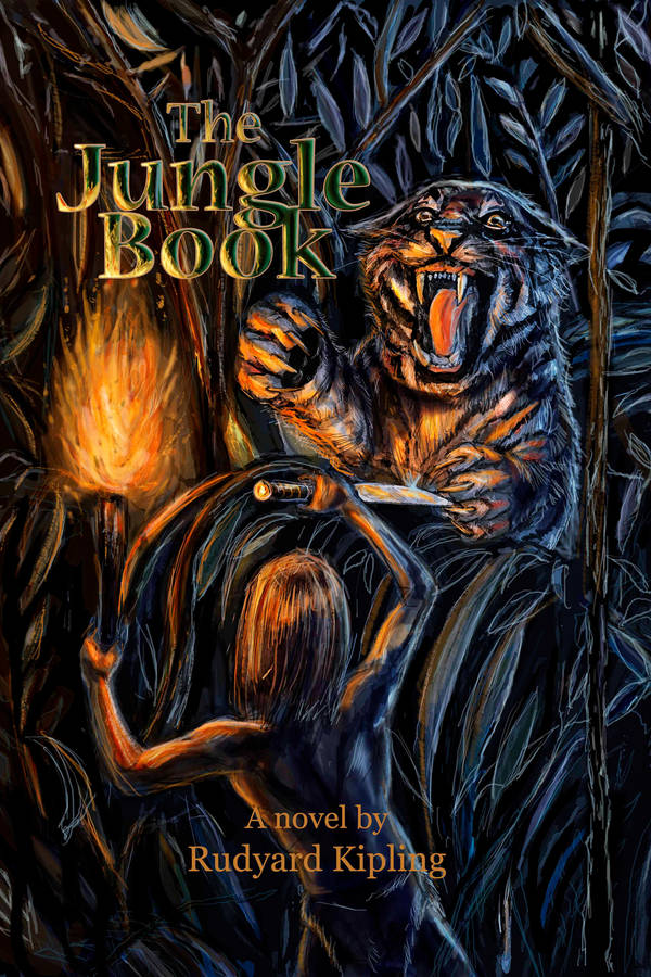 Jungle book book cover by Smintz-candy