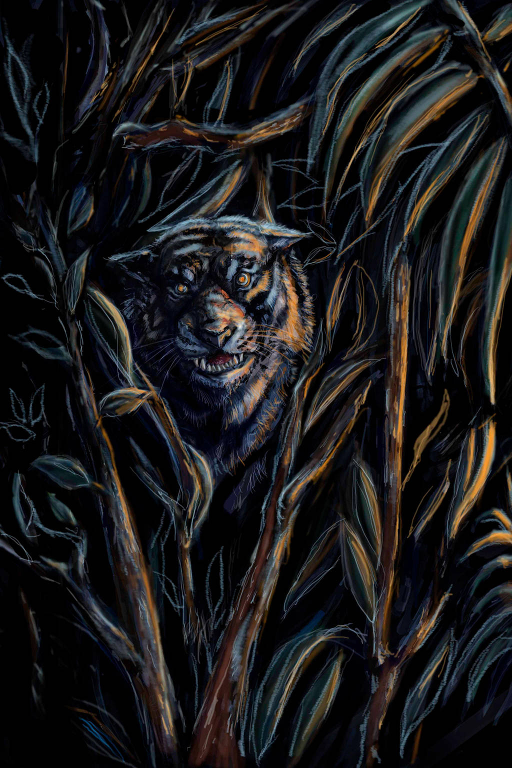 Junglebook back of jacket by Smintz-candy