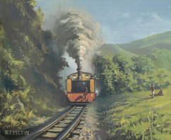 Vale of Rheidol Railway by Pictonart