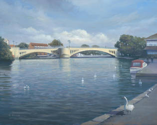 Caversham Bridge 2017. by Pictonart