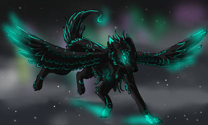 Aria: Mascot Contest Entry by mysticspiritwolf