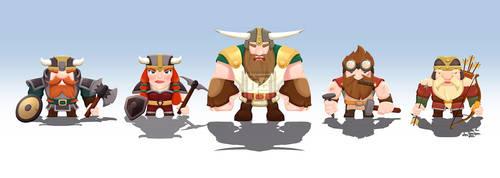 The Dwarfs by H2da