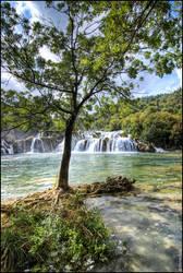 Krka waterfalls by mvizek