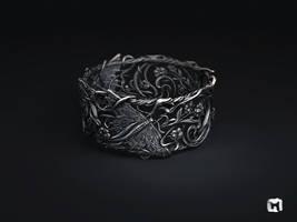 Butterfly bracelet by Melaamory