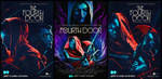 The fourth door posters by Melaamory