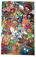 The Muppets by LizzyChrome