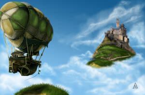 Sky Castle by Mortainius88