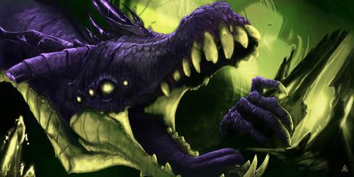 Undead Dragon by Mortainius88