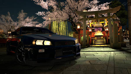 Nissan Skyline R34 GT-R by LuvSicPt4