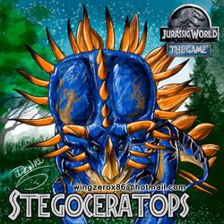 Stegoceratops by wingzerox86