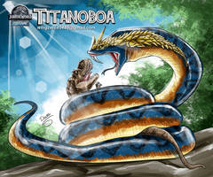 Titanoboa by wingzerox86
