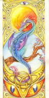 Dragon eyes by TrollGirl