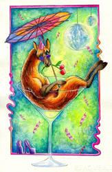 Cocktaillama by TrollGirl